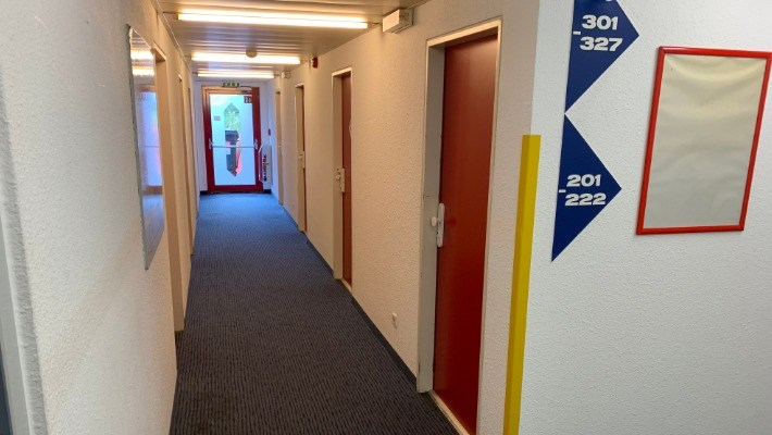 Motel 24 Hallway